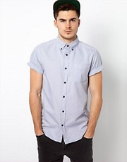 River Island Oxford Silver Shirt