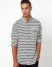 Publish Shirt With Stripe