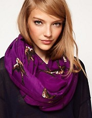 ASOS Bird Print Snood