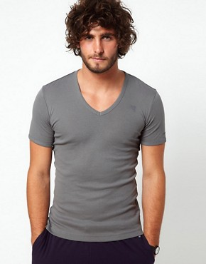 Image 1 ofG-Star Premium V Neck Two Pack T-Shirt