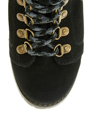 Image 3 ofASOS AIM Hiker Ankle Boots