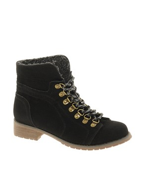 Image 4 ofASOS AIM Hiker Ankle Boots
