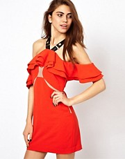 Three Floor Firecracker Frill Dress