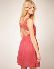 ASOS Skater Dress with Cut Back