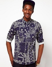 ASOS Shirt With Bandana Print