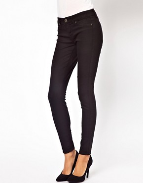 Image 1 ofRich And Skinny Solid Denim Skinny Jeans
