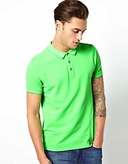 ASOS Polo In Pique Jersey