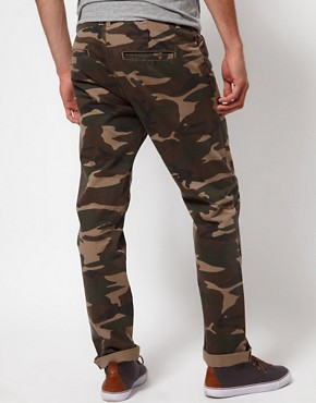 Image 2 ofASOS Slim Chino In Camo