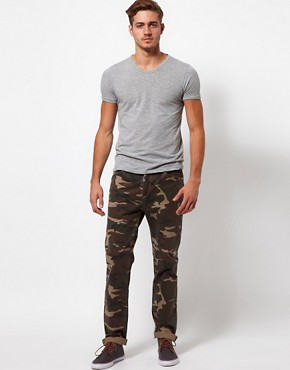 Image 4 ofASOS Slim Chino In Camo