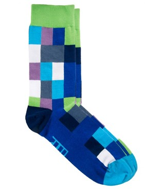 Image 1 ofBjorn Borg Field Check Socks