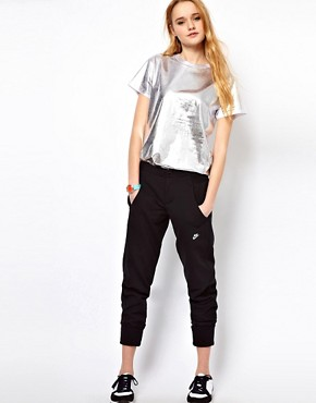 Image 1 ofNike Sweat Pants With Wide Cuff