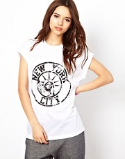 River Island New York Tee