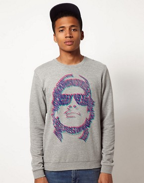 Image 1 ofASOS Sweatshirt With Eazy E Print