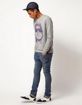 Image 4 ofASOS Sweatshirt With Eazy E Print