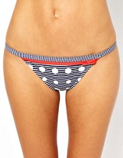 Freya Hello Sailor Print Bikini Tab Side Brief