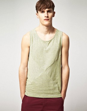 Image 1 ofPaul Smith Jeans Stripe Vest