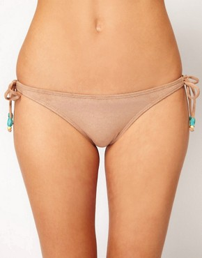 Image 1 ofVix Bikini Bottom With Suede Ties