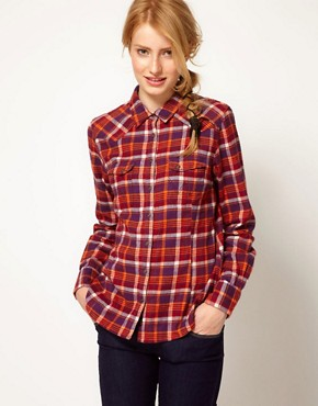 Image 1 ofWrangler Checked Shirt