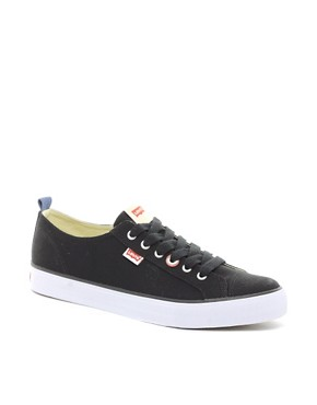 Image 1 ofLevi&#39;s Canvas Plimsolls