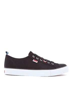 Image 4 ofLevi&#39;s Canvas Plimsolls