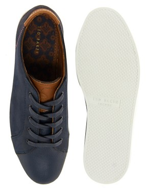 Image 3 ofTed Baker Tulix Leather Trainers