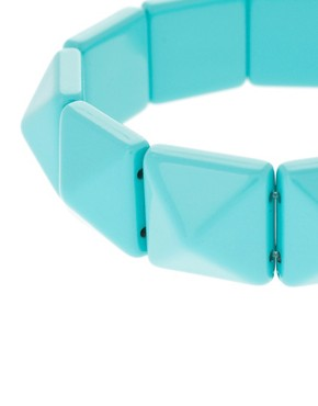 Image 3 ofLimited Edition Pyramid Stretch Bracelet