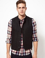 ASOS Wool Waistcoat