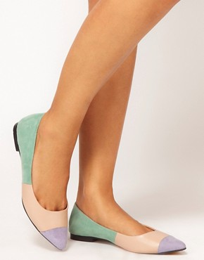 Image 3 ofASOS LINGO Ballet Flats