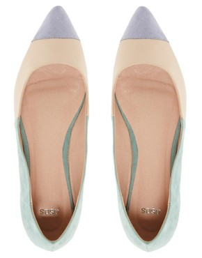 Image 4 ofASOS LINGO Ballet Flats