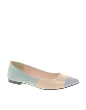 Image 1 ofASOS LINGO Ballet Flats