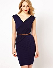 Coast Lana Jersey Dress with Belt