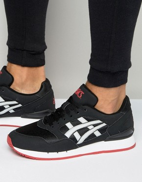 Asics Gel-Atlantis Trainers In Black H6G0N 9010