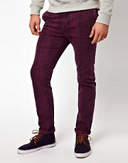 ASOS Skinny Chino With Snake Print
