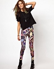 Your Eyes Lie - Leggings con stampa multi-digitale