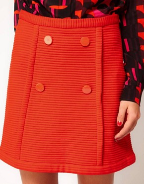 Image 3 of M Missoni Structured Jersey Mini Skirt