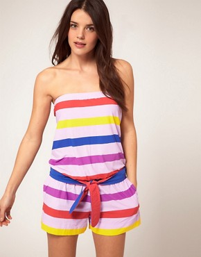 Image 1 ofMarc by Marc Jacobs Simone Beach Romper Playsuit