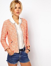 ASOS Blazer in Fluro Boucle