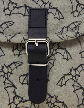 Image 2 of Kate Sheridan Bat Print Satchel