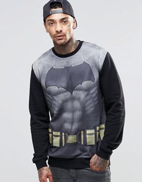 ASOS Sweatshirt With Batman Print