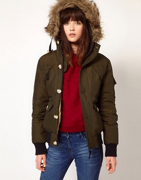 Image 1 ofPenfield Canyon Down Filled Bomber Jacket