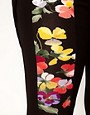 Image 3 ofASOS CURVE Floral Panel Leggings