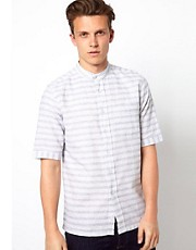 Wolsey Shirt with Horizontal Stripe