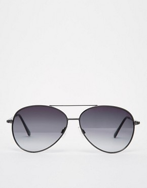 Image 2 ofASOS Silver Aviators