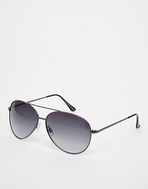 Image 1 ofASOS Silver Aviators