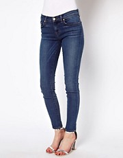 J Brand  Rhrenjeans mit mittelhohem Bund