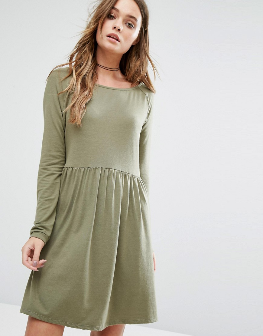Vila Smock Dress - Green