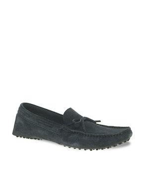 Image 1 ofASOS Suede Driving Shoes