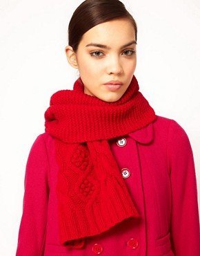 Image 1 ofSonia By Sonia Rykiel Cable Scarf