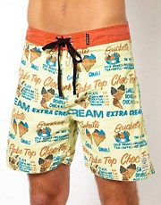 The Critical Slide Society Gelato Boardshort 17&quot;
