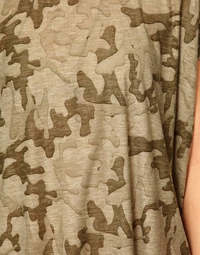 Image 3 ofVila Camo Slouch T-Shirt